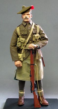 World at War (WWI, WWII, & Civil Wars) Two Scottish Soldiers from the Great War - OSW: One Sixth Warrior Forum