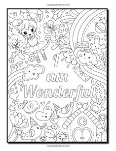 Amazon.com: Proud to be a Girl: An Adult Coloring Book for Girls with Fun Inspirational Quotes and Adorable Kawaii Drawings (Coloring Books for Girls) (9781984993014): Jade Summer: Books Summer Coloring Pages, Love Coloring Pages, Free Adult Coloring Pages, Coloring For Kids, Coloring Books, Coloring Pages Inspirational, Inspirational Quotes, Valentines Day Drawing, Doodle Art Designs