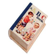 Vintage school book box