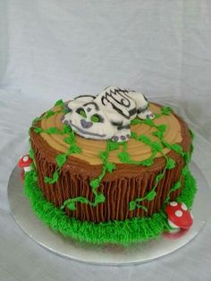 Tinker bell and the Neverland Beast cake