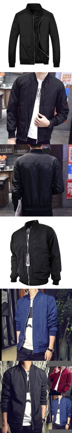 Men's Waterproof Bomber Jacket Men Spring Air Force One Army Military Coat Style Black Male Short Baseball Jackets