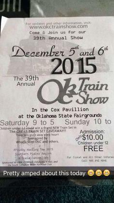 First okc train show