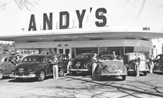 Ten Carhops No Waiting: Andy's Drive-In Sacramento, California | The Old Motor