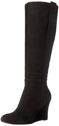 Nine West Women's Oran-Wide Suede Knee-High Boot *** Check this awesome product by going to the link at the image.