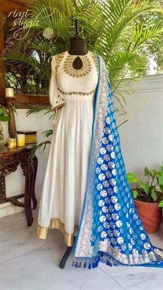 Beautiful and royal anarkali