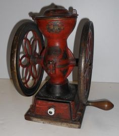 27 Remarkable Krupps Coffee Grinder Electric Coffee Grinder With Removable Cup Antique Coffee Grinder, Coffee Grinders, Coffee Box, Coffee Time, Vintage Tools, Vintage Items, Coffee Equipment, Antiques Roadshow, Vintage Coffee
