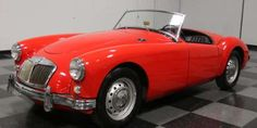 1959 MG MGA An MGA with a restored interior and dash and a new motor, this car is for sale for $23,995.