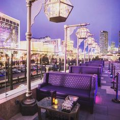 Where better to spend your Sunday than the beautiful #OMNIALasVegas terrace taking in the view