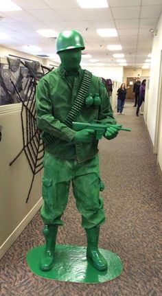 Toy soldiers!