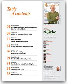 Table Of Contents Design  Google Search  Graphic Stuff