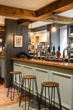 20 Gorgeous Pub Interior For Brilliant Room Arrangement Ideas - Page 15 of 20 Irish Pub Interior, Irish Pub Decor, Room Arrangement Ideas, Home Pub, Pub Design, Pub Bar, New Wall, Bars For Home, Interior Design