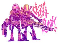 Mr. Dan Hipp.  Illustrator extraordinaire. check out his use of color, it always astounds me.