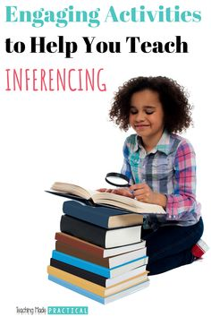 Activities, tips, and ideas to help you teach inferencing to your 3rd, 4th, and 5th grade students. Introduce making inferences with an engaging, low prep activity, or have your upper elementary class go on an inferencing escapade - a fun activity that also helps students to get to know the staff better. This is a fun review activity for inferencing.
