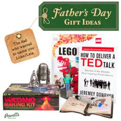 This Father's Day get your awesome dad something he really wants! http://powells.us/1rHYva4