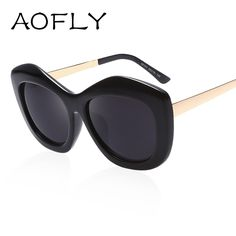 49c5fd72a AOFLY New Arrival Fashion Cat Eye Sunglasses Vintage Sunglasses Women Brand  Designer Alloy Legs Shades Oculos de sol feminino Buyers .