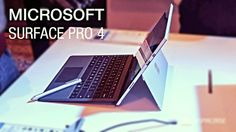 cool Microsoft Surface Pro 4 hands on review Check more at http://gadgetsnetworks.com/microsoft-surface-pro-4-hands-on-review/