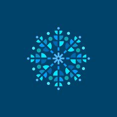 Snowflake icon design