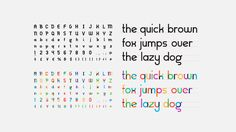 Type With Pride: Gilbert font on Behance