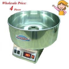 801.00$  Buy here - http://aliuj6.worldwells.pw/go.php?t=32671952491 - 4pcs/lot New Brand Cotton Candy Machine Full Electric Commercial Candy Floss 801.00$
