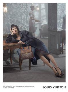 Gisele Bündchen photographed by Steven Meisel for Louis Vuitton Fall/Winter 2013-2014 Campaign