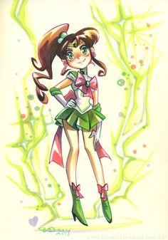 Super Sailor Jupiter / kittycatkissurebloggedcubesona