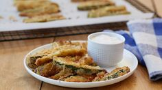 These crisp zucchini fries are sure to become a favorite for any occasion.