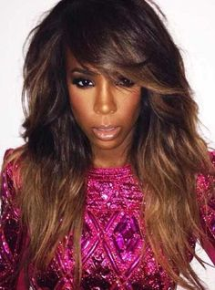 Stock Kelly Rowland Full Lace Human hair Wig - Wavy -clw065-s [clw065] - $309.99 : Full Lace Wigs|Lace Front Wigs|Lace Wigs @ RPGSHOW
