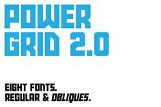 Power Grid 2.0 by Sketchbook B on @creativemarket