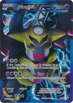 Giratina - BW74 - Full Art Ultra Rare - Black & White Promos - Pokemon