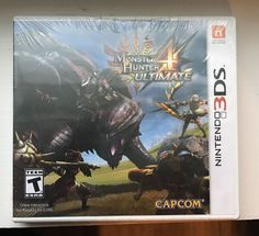 New in packaging Monster Hunter 4 Ultimate for Nintendo 3DS Product InformationDefeat massive monsters in this thrilling, action-packed game, Monster ... #nintendo #game #ultimate #hunter #monster #sealed