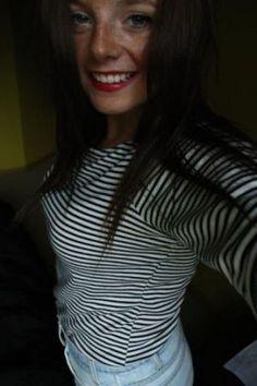 Stripes - decorating with stripes polka dots and pom poms - myLusciousLife.com.jpg