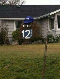 Seahawks pride is everywhere!