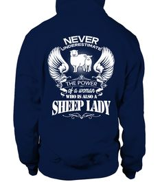 # THE POWER OF A WOMAN SHEEP LADY .  1. Select the style and color you want: 2. Click the Green Button 3. Select size and quantity 4. Enter and billing information 5. Done! Simple as that!