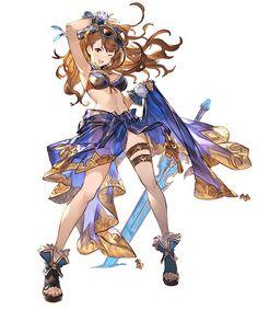 Summer Beatrix from Granblue Fantasy