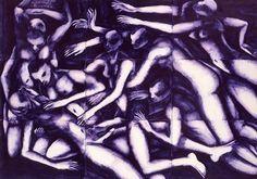 Andrea Chiesi è nato a Modena nel 1966. Si forma frequentando la scena della controcultura punk dei primi anni '80. Esordisce come disegnatore per pubblicazioni underground. Ha collaborato con i CSI per l'artwork della collana Taccuini, ha realizzato le copertine di 20 cd prodotti dal CPI, e sempre con i CSI, l'Apocalisse di Giovanni, un'opera di musica e pittura. Successivamente ha sviluppato una ricerca sul paesaggio contemporaneo, sul tempo e la memoria, attraverso una pittura a olio su…