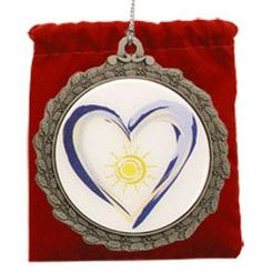 Heart Sunshine Ornament
