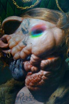 .. I have no words to describe this horrifically beautifully & exquisitely grotesque piece of art.. but, my god!! I love how much I want to hate it but absolutely adore it, instead .. ~ Christian Rex van Minnen, www.seevanminnen.com ~