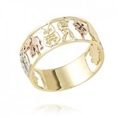 Anillo de oro para mujer. Bangles, Bracelets, Gold Rings, Rose Gold, Jewelry, Fashion, Happy, Cleaning Business, Birthday Gifts