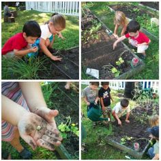 every child should have a chance to connect with a garden! Outdoor Learning Spaces, Outdoor Spaces, Waldorf Education, Kids Education, Garden Projects, Garden Ideas, Outdoor Classroom, Learning Environments, Early Childhood Education