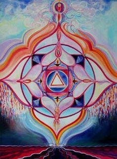 Painting Gallery Carol Herzer: Chakra Paintings