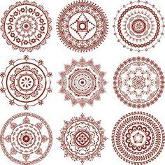Henna Mandalas ebook Mehndi pattern book with от. Mehndi Tattoo, Henna Tattoo Designs, Henna Mehndi, Henna Art, Mandala Tattoo, Mehndi Designs, Hand Henna, Henna Belly, Lotus Henna