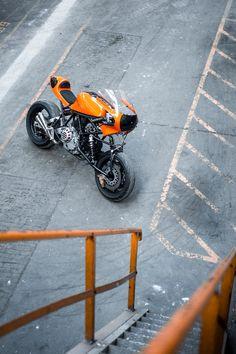 "..._Ducati 900 SS ""Di Fazio"" by Bernard Mont"