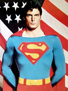 Had a Superman film day, I had forgotten just how handsome Christopher Reeve was, even as CK in his clumsy, geeky awkwardness he was still so very handsome :) No wonder I grew up finding geeks attractive ;)