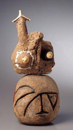 Joan-Miro-Personnage-More abstract ceramic bust Joan Miro, Modern Sculpture, Sculpture Art, Jean Arp, Plastic Art, Kandinsky, Ceramic Artists, Pottery Art, Clay