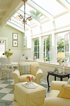 Surf pictures of sunroom designs as well as design. Discover ideas for your 4 seasons room enhancement, consisting of motivation for sunroom decorating and also designs. Sala Tropical, Sunroom Decorating, Sunroom Ideas, Decorating Ideas, Decor Ideas, Apartments Decorating, Small Sunroom, Foyer Ideas, Porch Ideas