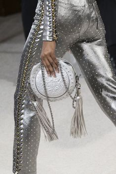 Balmain at Paris Fashion Week Spring 2018 - Can We Please Have These Paris Runway Purses? - Photos #luxuryfashion