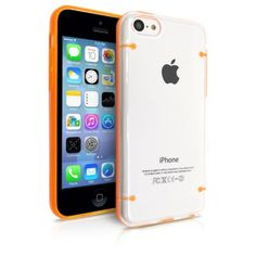 iPhone 5C Case, MagicMobile [Glow Series] Hybrid Ultra Slim Crystal Clear Case for iPhone 5C Luminous Glow In the Dark Bumper Frame Protective Cover for iPhone 5C Cute Fluorescent Case [Color:Orange]. Premium clear glowing case fits perfectly in your galaxy S5 and provides protections against scratches, shock, bumps and any other accidental damage. Bumper frame made of special TPU to provide better gripping, steady and secure fit. Its frame *glows in the dark*. Clear crystal desing allow…