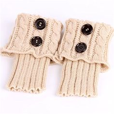 Amazon.com: UNKE Winter Warmer Crochet Leg Knit Boot Socks Womens Knit Twist Buttons Boot Socks: Wall Art