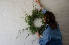 Summer Crafts:  5 DIY Herb Wreaths