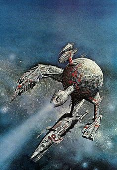 Worlds at War - Bob Layzell - - Space Science Fiction art Space Fantasy, Sci Fi Fantasy, Fantasy Fiction, Star Wars, Art Science Fiction, Mad Science, Illustrations, Illustration Art, Arte Sci Fi